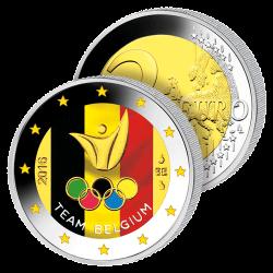 2 Euros Belgique Couleurs –...
