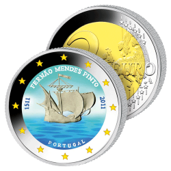 2 Euros Portugal Couleurs –...
