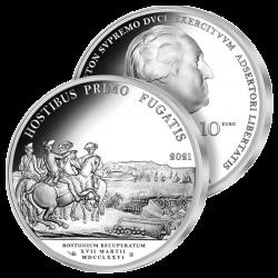 10€ Argent Washington