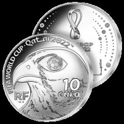 10€ Argent Football 2021