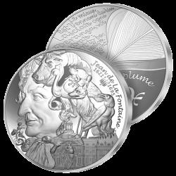 10€ Argent Jean de La Fontaine