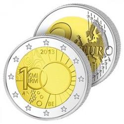 2 Euros Belgique 2013 - Institut Météo