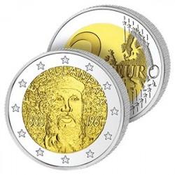 2 Euros  de Finlande 2013 - 125 ans de l'Écrivain