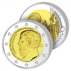2 Euros de Grèce 2013 - Académie de Platon