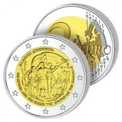 2 Euros de Grèce 2013 - Rattachement de la Crète