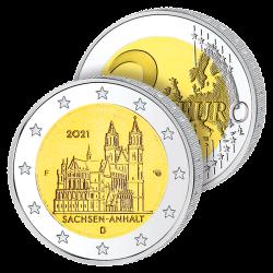 2 Euros Allemagne 2021 –...