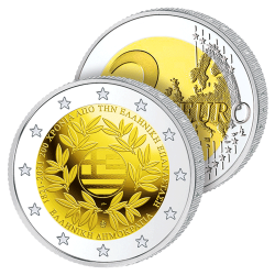 2 Euros Grèce 2021 –...