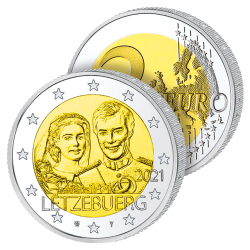 2 Euros Luxembourg 2021 –...