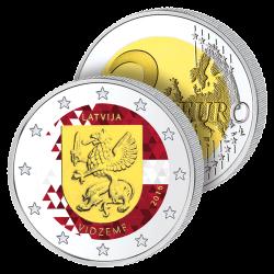 2 Euros Lettonie 2016 en...
