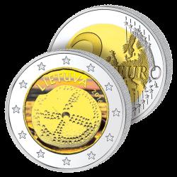 2 Euros Lituanie 2016 en...