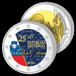 2 Euros Slovénie 2016 en...