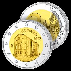 2 Euros Espagne 2017 –...