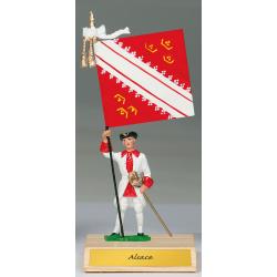 Figurine Région Alsace