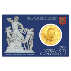 Miniset Demi-Euro Vatican 2012