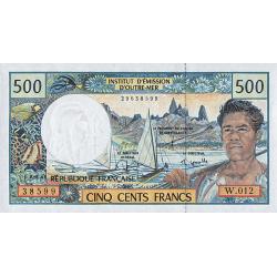 Billet 500 Francs du Paradis