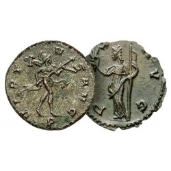 Les 2 Monnaies Romaines : La Guerre et La Paix