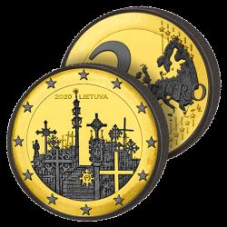 2€ Rare La Colline des Croix