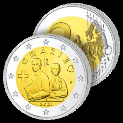 2 Euros Italie 2021 –...