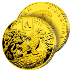 100 Dollars Or Pur Tigre 2022
