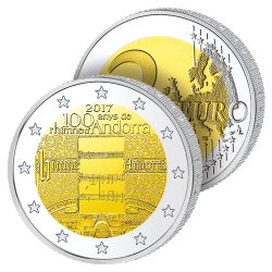 2 Euros Andorre – Hymne...