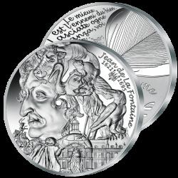20€ Argent Jean de la Fontaine