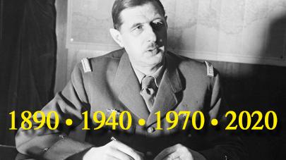 2020 – Année de Gaulle