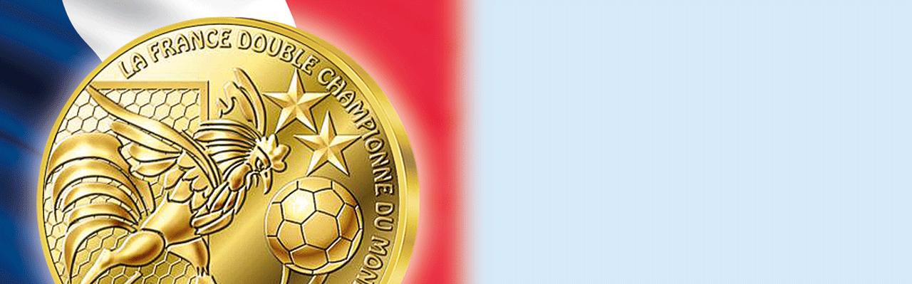La Médaille de la France Championne du Monde 2018